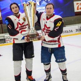Хоккеисты «Северной Звезды» стали победителями чемпионата Сахалинской области
