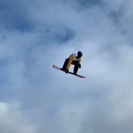 Сахалинские сноубордисты тренировались в Новосибирске