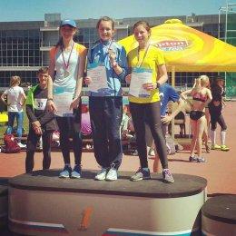 Софья Коротынская заняла второе место на Всероссийских соревнованиях