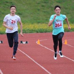 Илья Данилюк и Юлия Плаксина первенствовали на областных соревнованиях «Шиповка юных»
