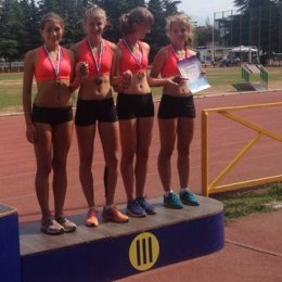 Островные легкоатлетки завоевали бронзовые медали первенства России!