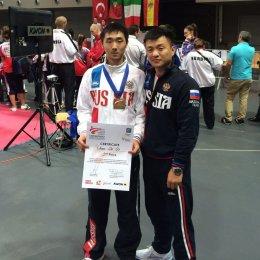 Чан Де Сир из Южно-Сахалинска завоевал бронзовую медаль первенства Европы