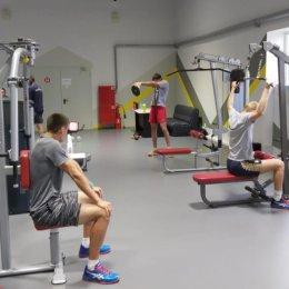 Волейболисты «Элвари-Сахалин» совмещают высокие нагрузки с игровой практикой