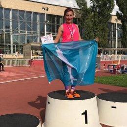Лариса Жук завоевала золотую медаль первенства страны среди ветеранов