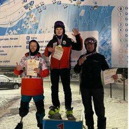 Всеволод Щеглов стал обладателем двух золотых медалей этапа Кубка России по парасноуборду