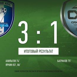 «Сахалин» забил первый гол, но все равно проиграл