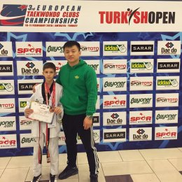 Артур Акопян из Южно-Сахалинска стал бронзовым призером «Turkish open – 2015»