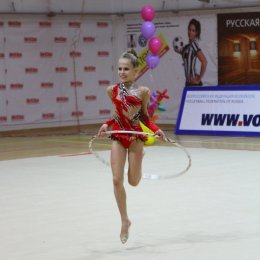Сахалинские гимнастки на «Русской матрешке»