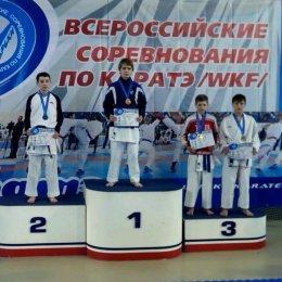 Сахалинские каратисты завоевали семь медалей на Всероссийских соревнованиях в Новосибирске