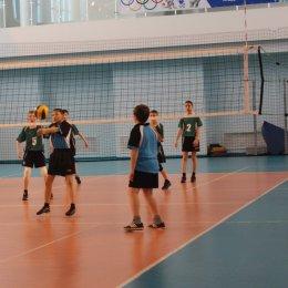 Сборная команда Сахалинской области заняла четвертое место в первенство ДФО по волейболу среди девушек 2001 – 2002 г.р.