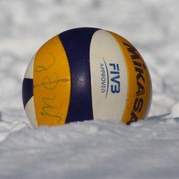 Семь команд приняли участие в турнире по снежному волейболу