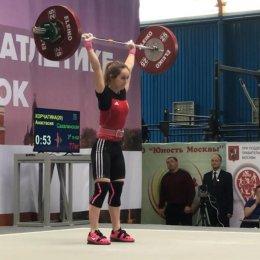 Анастасия Корчагина – победительница первенства России!