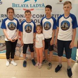 Островные шахматисты сыграли вничью со школьниками из Дагестана