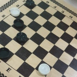 В Невельске сыграли в шашки