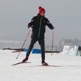 Юные сахалинские лыжники получили советы олимпийского чемпиона накануне Международного марафона