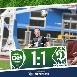 «Сахалин» забивал и в свои, и в чужие ворота: итог матча с «Динамо-Брянск»
