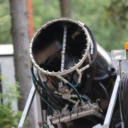 На горе Парковой провели сервисное обслуживание системы искусственного оснежения