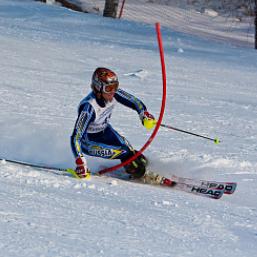 Островные горнолыжники тренируются в Абзаково