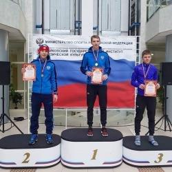 Александр Баженов – победитель этапа Кубка России