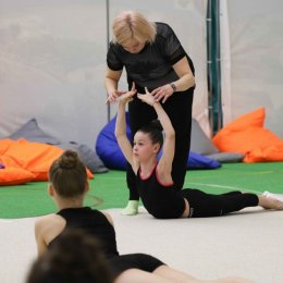 ЗМС Амина Зарипова проводит мастер-классы в СК «Олимпия-Парк»