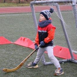 «Ромашка» играет в хоккей