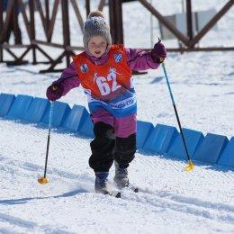 Областная Спартакиада дошкольников стартовала с лыжных гонок