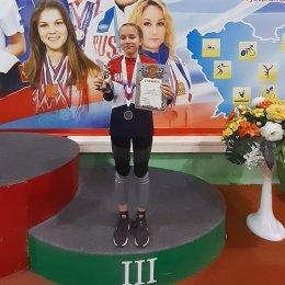 Варвара Мухортова завоевала две медали всероссийских соревнований