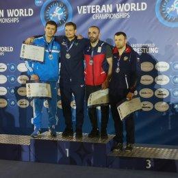 Денис Бакай завоевал бронзовую медаль чемпионата мира по греко-римской борьбе среди ветеранов