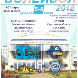 Первый этап турнира за 5-8 место чемпионата женской Суперлиги (Одинцово)