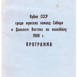 Кубок Сибири и Дальнего Востока по волейболу среди мужских команд (Южно-Сахалинск)