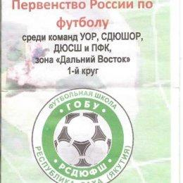 Зональный турнир первенства России среди юношей (Нерюнгри)