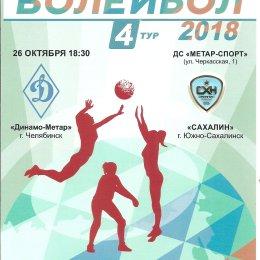"""""""Динамо-Метар"""" (Челябинск) - """"Сахалин"""""""