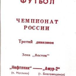 """""""Нефтяник"""" (Ногики) - """"Амур-2"""" (Благовещенск)"""